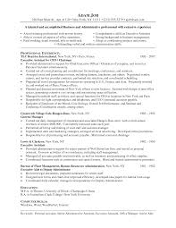 Resume Templates Accounting Impressive Hospital Ceo Resume Template On Hospital Resume Sample