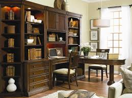 Partner Desk With Hutch Furniture Cherry Creek Wall Unit With Partner Desk Baer S