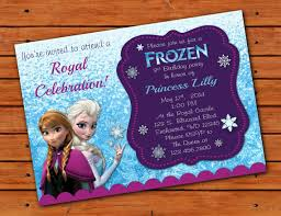 themed invitations frozen themed invitation 5x7 printable digital file