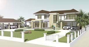 big house 3d cgtrader