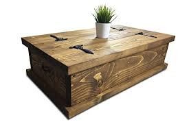Pine Coffee Tables Uk Solid Rustic Handmade Pine Coffee Table Chest Finished In A