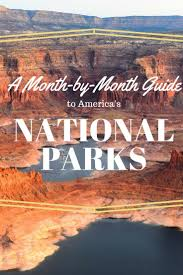 a year of national parks your month by month guide to america u0027s