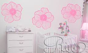 premium large flowers floral wall art decal vinyl sticker home premium large flowers floral wall art decal vinyl sticker home decor modern shabby chic nursery outilne decals customized your blank wall