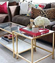 Glass Coffee Table Decor 23 Best Coffee Table Decor Images On Pinterest Coffee Table