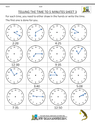 Free Printable Shapes Worksheets Here You Will Find Our Selection Of Telling Time Clock Worksheets