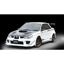 subaru wrx widebody varis widebody front fenders