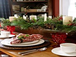 rustic christmas table country christmas table centerpiece ideas