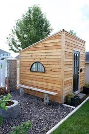 Backyard Fort Ideas 40 Best Sheds Images On Pinterest Modern Shed Gardens And