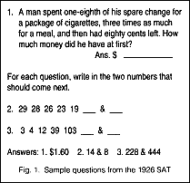 changes in the sat in 1994