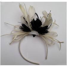 headband online and black fascinator on headband weddings ascot races