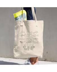 eco bag new savings on zero waste durable canvas bag ocean conservation
