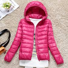 plus size light jacket special offer plus size hooded ultra thin lightweight down jacket