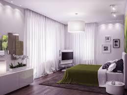 admirable white master bedroom lighting idea using white drum