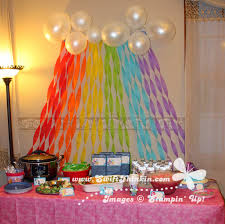 swift thinkin u0027 table setup for a my little pony party stellas 4