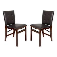 Upholstered Folding Dining Chairs Buy Folding Upholstered Chairs From Bed Bath Beyond