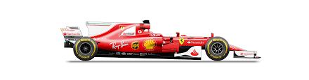 oc plan view of the 2017 ferrari sf70h formula1