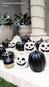 how kourtney kardashian decorates for halloween architectural digest
