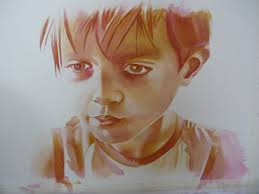 painting watercolor portraits layer by layer artiful painting demos