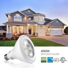 Led Light Bulb Dimmable by Par38 Led Bulb 120w Equivalent 18w 4000k 1300lm Daylight White