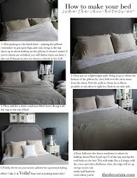 how to make a bed how to make your bed the hotel way the decorista