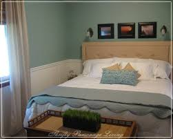 Wainscoting Ideas Bedroom Remodelaholic Master Bedroom Remodel With White Wainscoting Panels