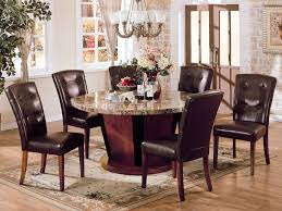 Round Wood Dining Room Table Sets  Cmrt Round Table - Ohana white round dining room set