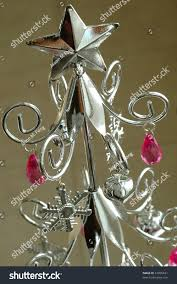 Silver Metal Christmas Decorations by Silver Metal Christmas Tree Christmas Lights Decoration