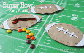 football party favors bowl party favors that are sure to score a touchdown