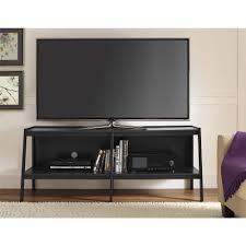 Wooden Tv Stands For Lcd Tvs Tv Stands Marvelous Black Tv Stand Picture Concept Walker Edison