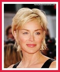 haircuts for women over 50 with thick hair short haircuts for fat faces over 50 hair