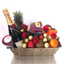 gift baskets free shipping the melbourne christmas hers fruit basket fruit hers free