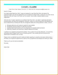 9 data entry cover letter worker resume
