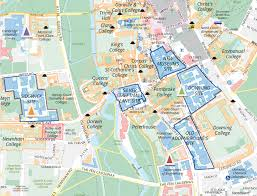 Queens College Map Pembroke In Context Faculties U0026 Departments U2013 Pembroke College