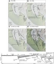 La Paz Mexico Map by Late Quaternary Faulting History Of The Carrizal And Related