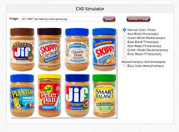 Red Green Color Blind Simulator Colorblind Redditors Shocked To Learn That Peanut Butter Isn U0027t