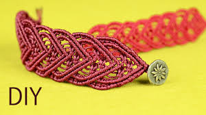 bracelet macrame patterns images Amazing macram heart bracelet tutorial jpg