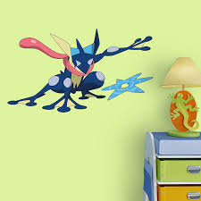 amazon com fathead peel and stick decals pokemon greninja junior amazon com fathead peel and stick decals pokemon greninja junior wall decal home kitchen