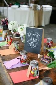 idee original pour mariage une table d enfants ludique 20 idées faciles et pas chères pour