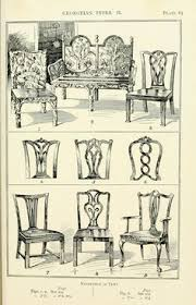Chair Styles Guide This Chart Was Originally Published In 1907 On The February Issue