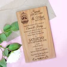 engraved wedding invitations 11b engraved wooden wedding invitation package wooden invites