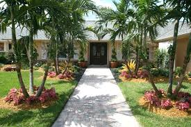 Tropical Gardening Ideas Landscaping Ideas With Palm Trees Palm Tree Backyard Small