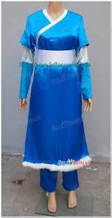 Aang Halloween Costume Katara Cosplay Costumes Avatar Airbender Holiday