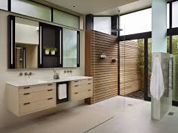 Bathroom Designs With Walk In Shower by Small Bathroom With Walkin Open Shower No Door Small Rug On The