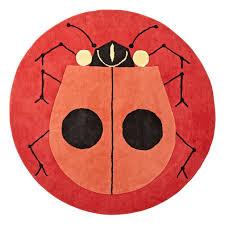 Ladybug Area Rug Artist Collection Bedding Decor Room And Bedroom