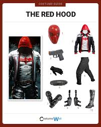 best batman halloween costume dress like the red hood costume halloween and cosplay guides