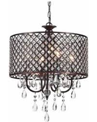crystal l shade chandelier don t miss this deal on mariella 4 light crystal drum shade chandelier