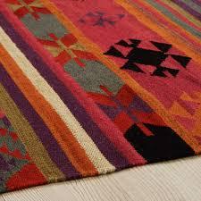 tappeto etnico tappeto etnico multicolore in 140x200cm maisons du monde