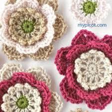 Crochet Designs Flowers 1130 Best Crochet Doily Flowers U0026 Leaves Images On Pinterest