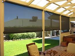 modern porch porch blinds