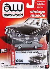 barracuda manual 1964 plymouth barracuda silver auto world aw64032b 1 64 scale